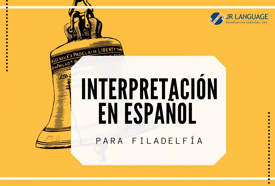 interpretación en español para Filadelfía