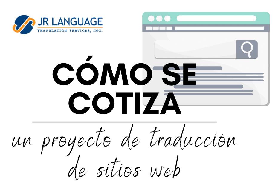 presupuesto para traducción de páginas web