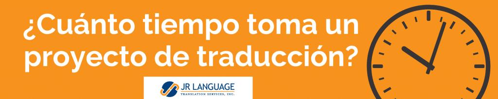 tiempo de ejecución para servicios de traducción