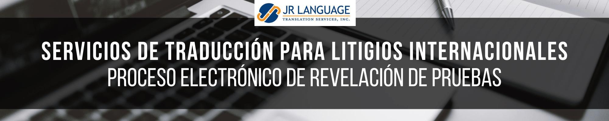 Traducción jurídica para litigios internacionales